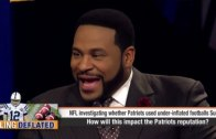 """Jerome Bettis joins ESPN First Take to discuss the New England Patriots and """"Deflate-Gate"""""""