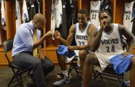 Cabbie interviews Andrew Wiggins & Anthony Bennett of the Minnesota Timberwolves