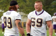 Highlights of Brock Lesnar's career with the Minnesota Vikings (Throwback Thursday)