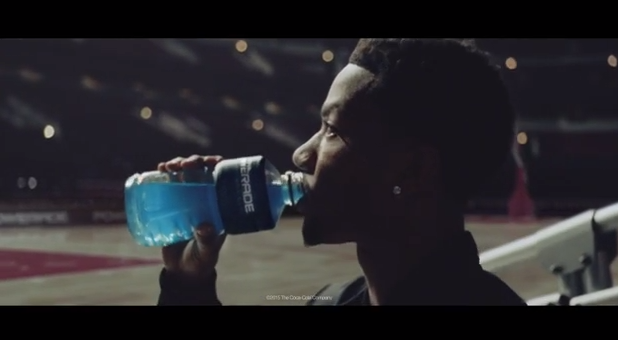 Powerade & Derrick Rose commercial featuring Tupac Shakur