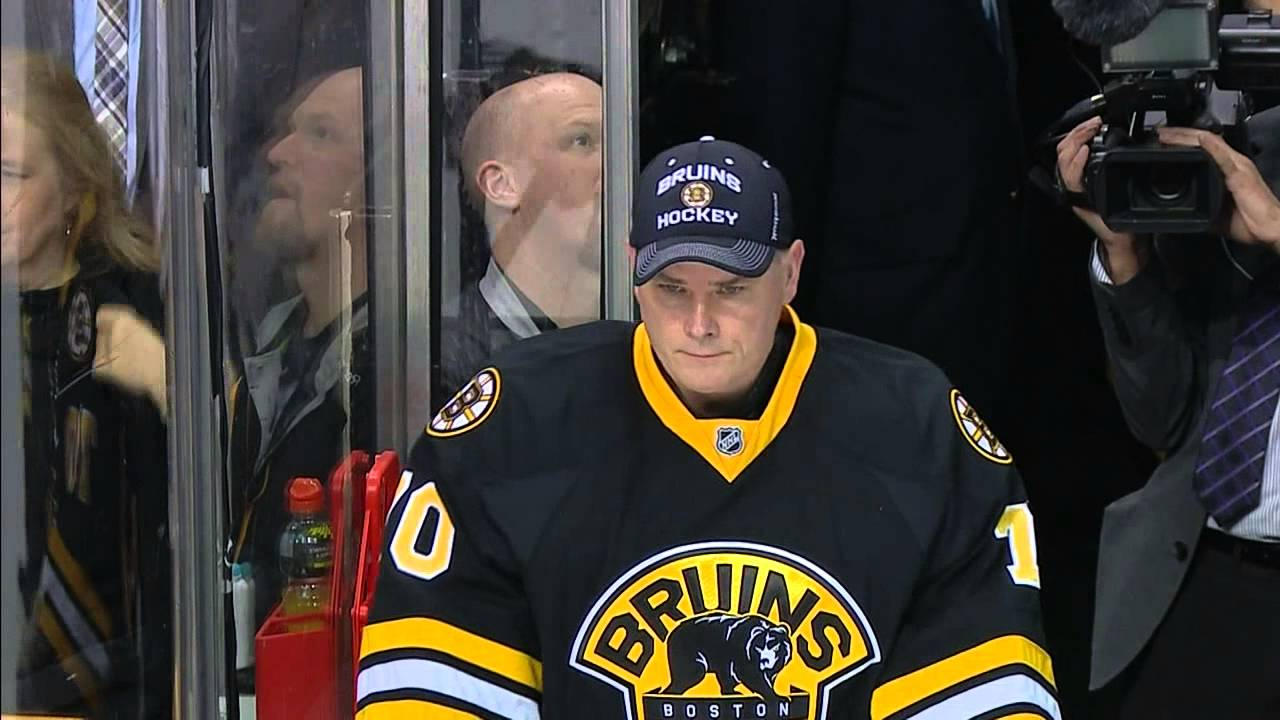 Boston's goalie coach plays back-up