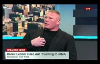 Brock Lesnar speaks on his decision to re-sign with the WWE