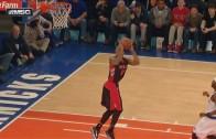 DeMar DeRozan attempts 360 dunk on breakaway & fails