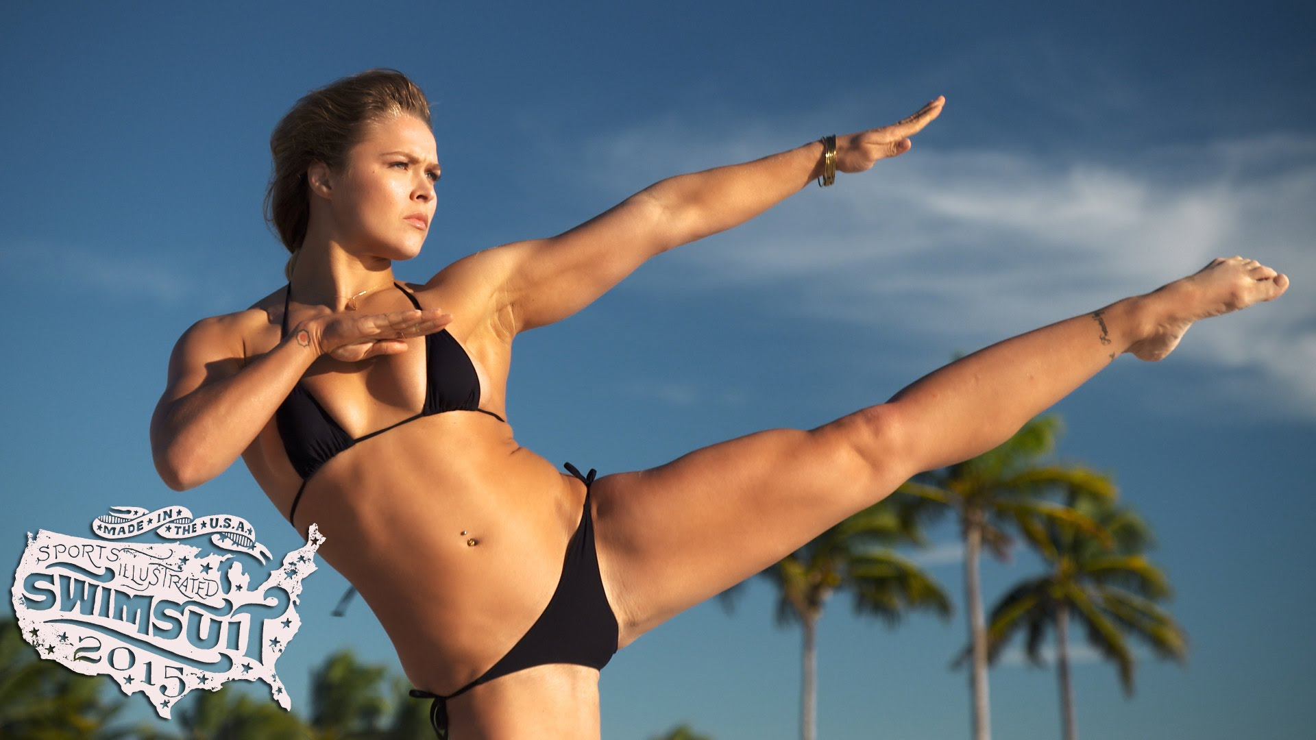Dime View: Ronda Rousey Sports Illustrated Swimsuit 2015