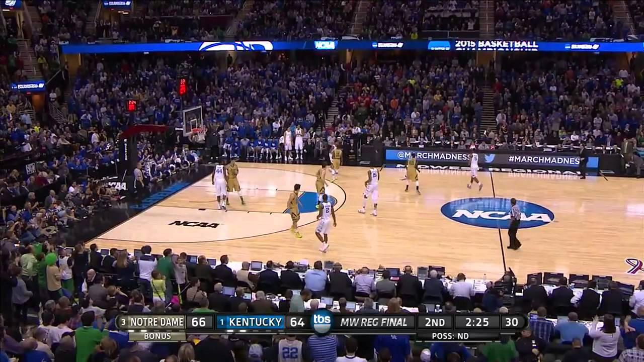 Jerian Grant hits clutch three from way downtown