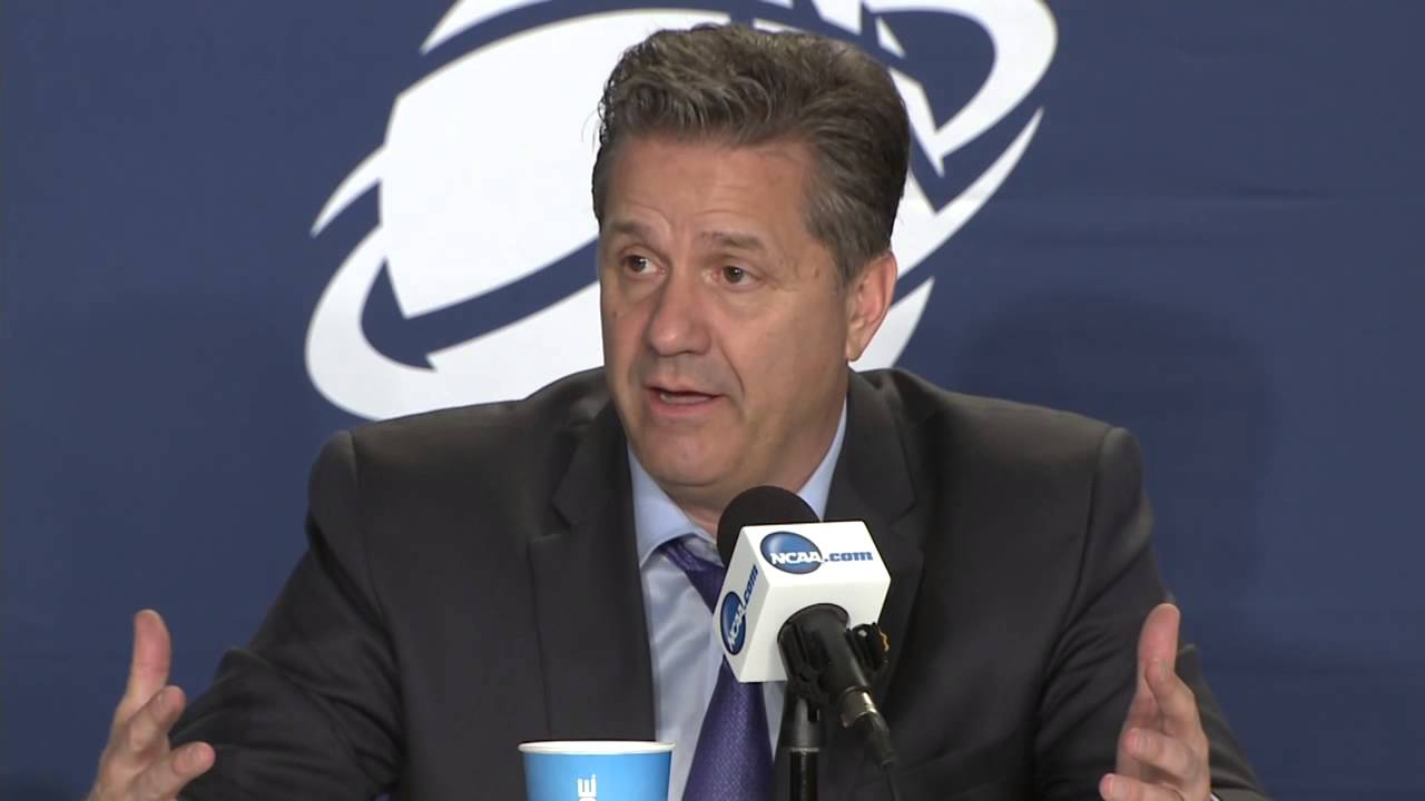 John Calipari & Kentucky players speak to the media following blow out win