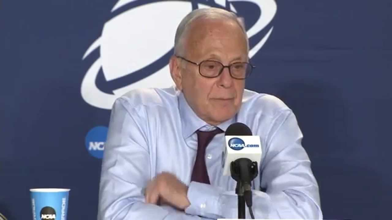 Larry Brown & SMU players react to heart breaking goaltending loss to UCLA