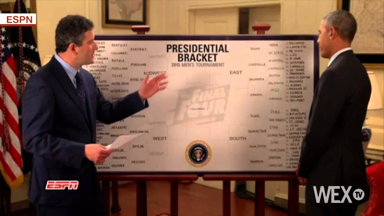 President Obama releases his 2015 NCAA Tournament bracket