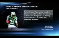 RB Chris Johnson in stable condition after being shot in the shoulder