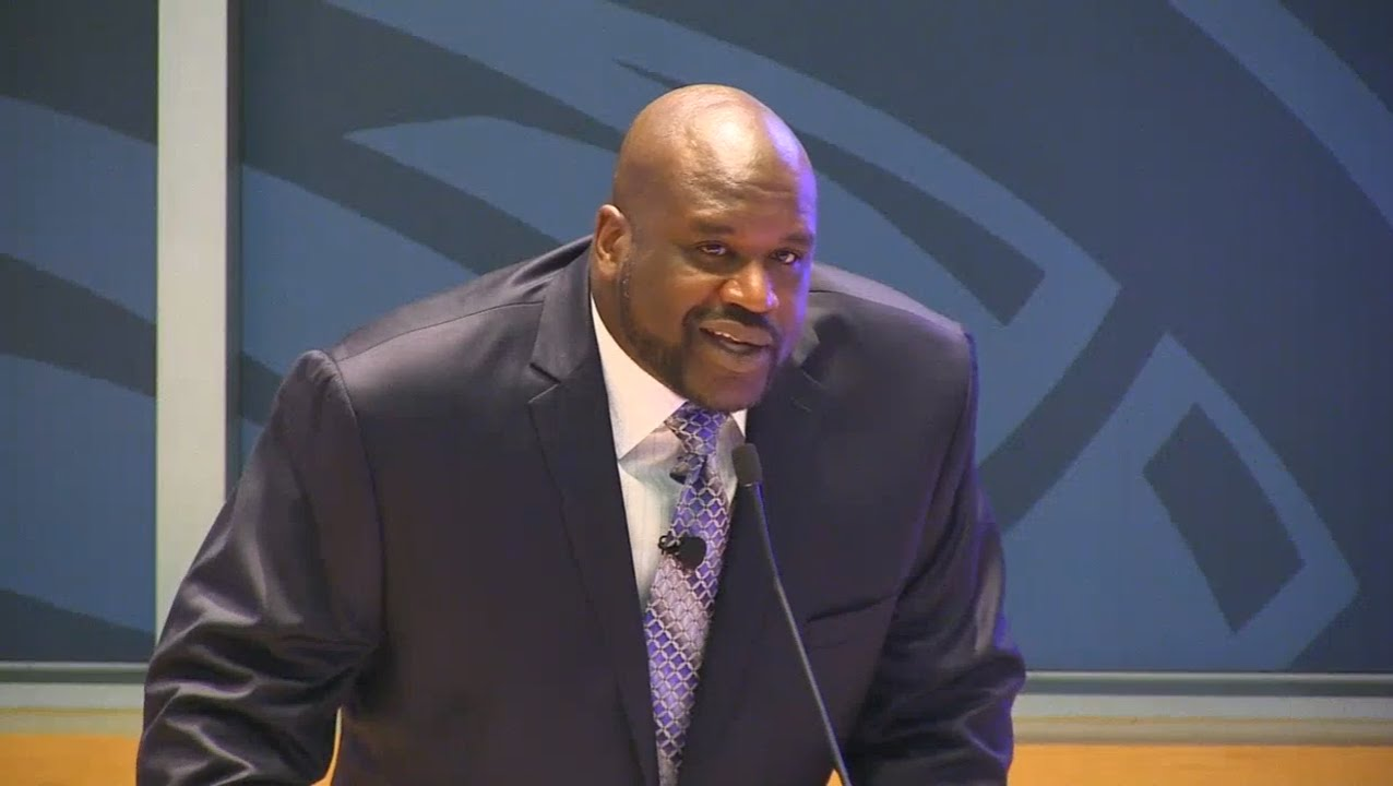 Shaquille O'Neal inducted into the Orlando Magic Hall of Fame