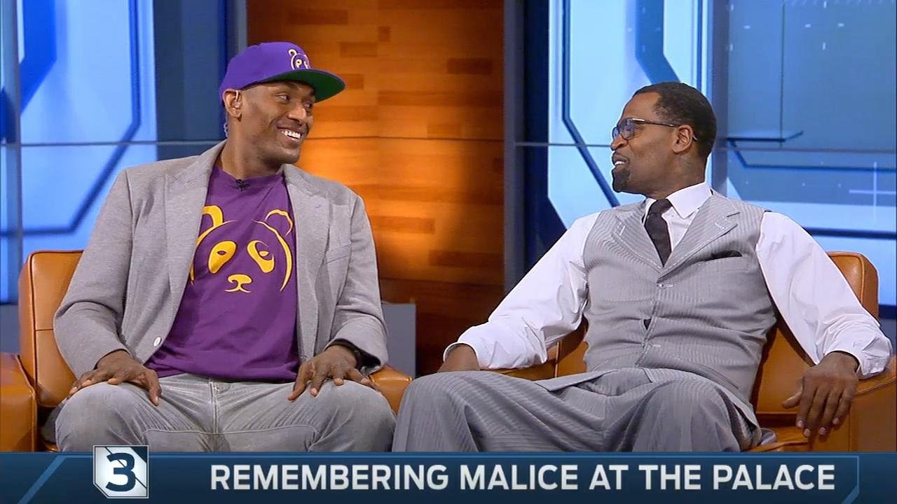 Stephen Jackson & Metta World Peace (Ron Artest) recall the Malice at the Palace