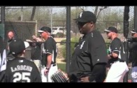 Bo Jackson explains who he is to Adam LaRoche's son