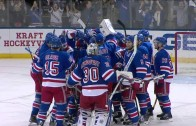 Carl Hagelin scores OT winner to clinch series for the Rangers