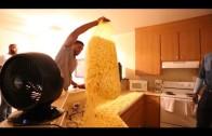 DeMarcus Cousins, Rudy Gay & Reggie Evans popcorn Nik Stauskas' house