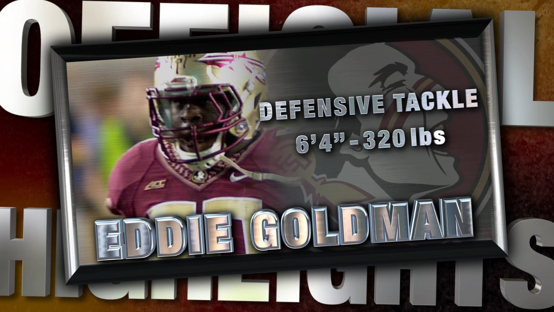 Fanatics View Draft Profile: Eddie Goldman (DT - Florida State)
