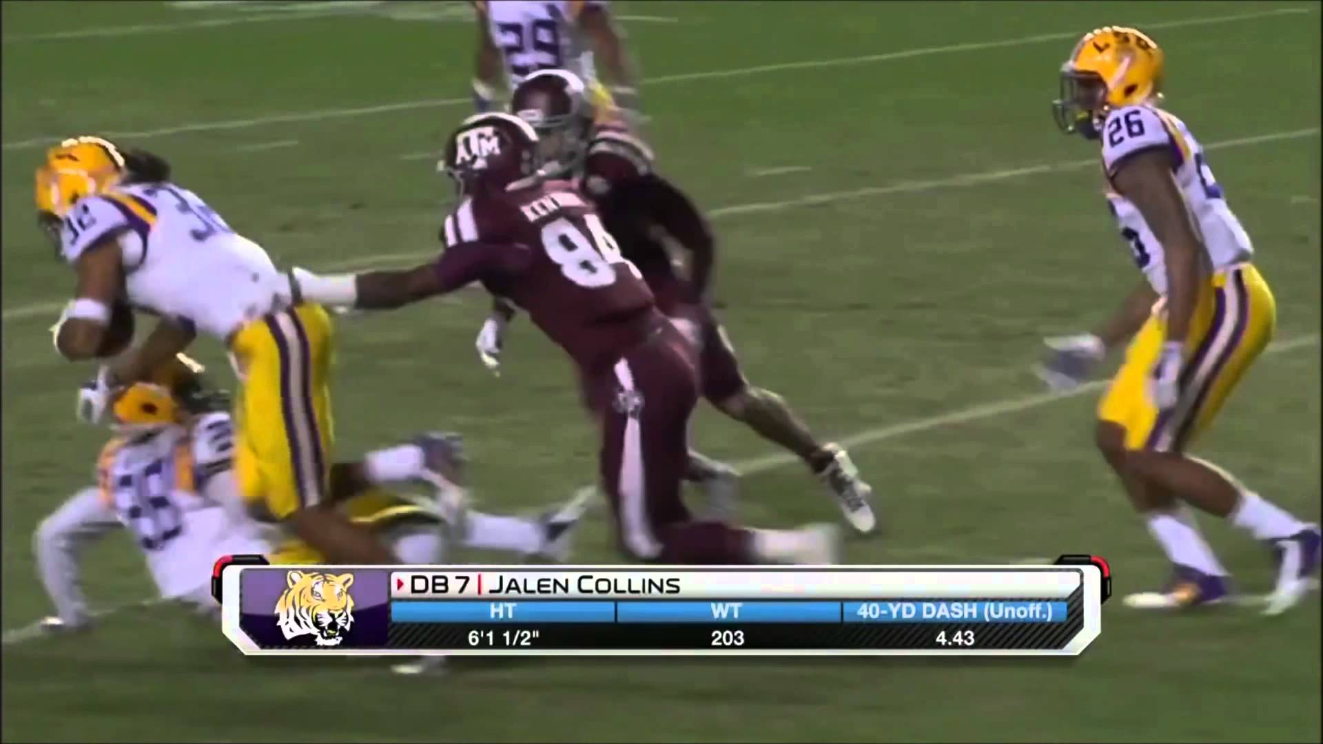 Fanatics View Draft Profile: Jalen Collins (CB - LSU)