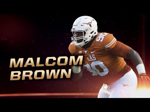 Fanatics View Draft Profile: Malcolm Brown (DT - Texas)