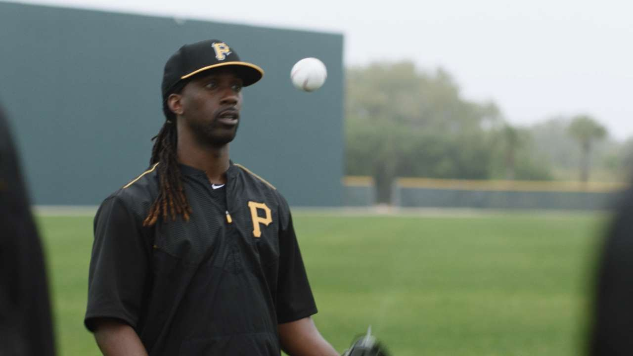 Inside a Pittsburgh Pirates huddle with Andrew McCutchen