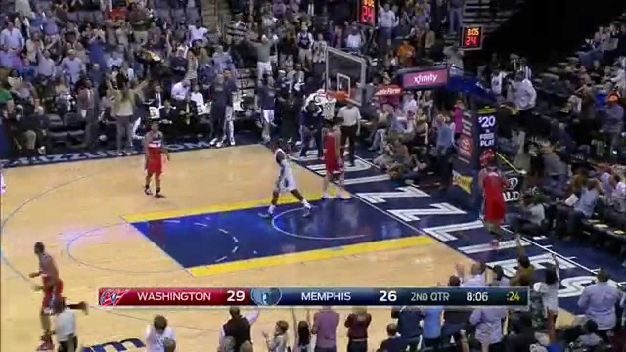 Jeff Green with a viscous posterzing throwdown