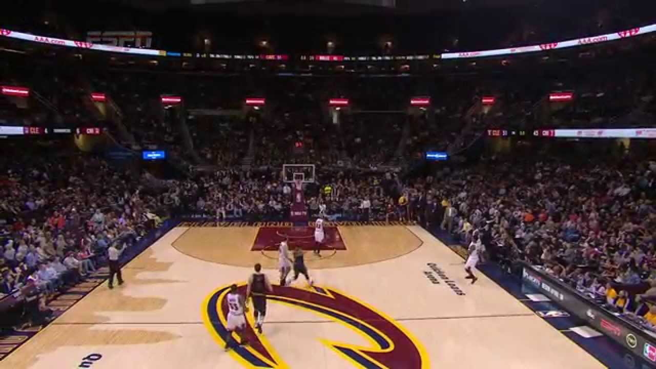 JR Smith hits 40 footer fading away at the buzzer