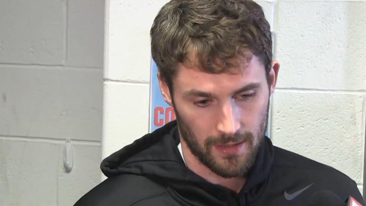 Kevin Love blasts Kelly Olynyk for shoulder injury