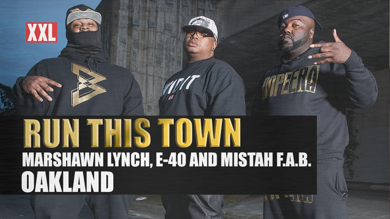 Marshawn Lynch takes you into Oakland with Mistah Fab & E-40