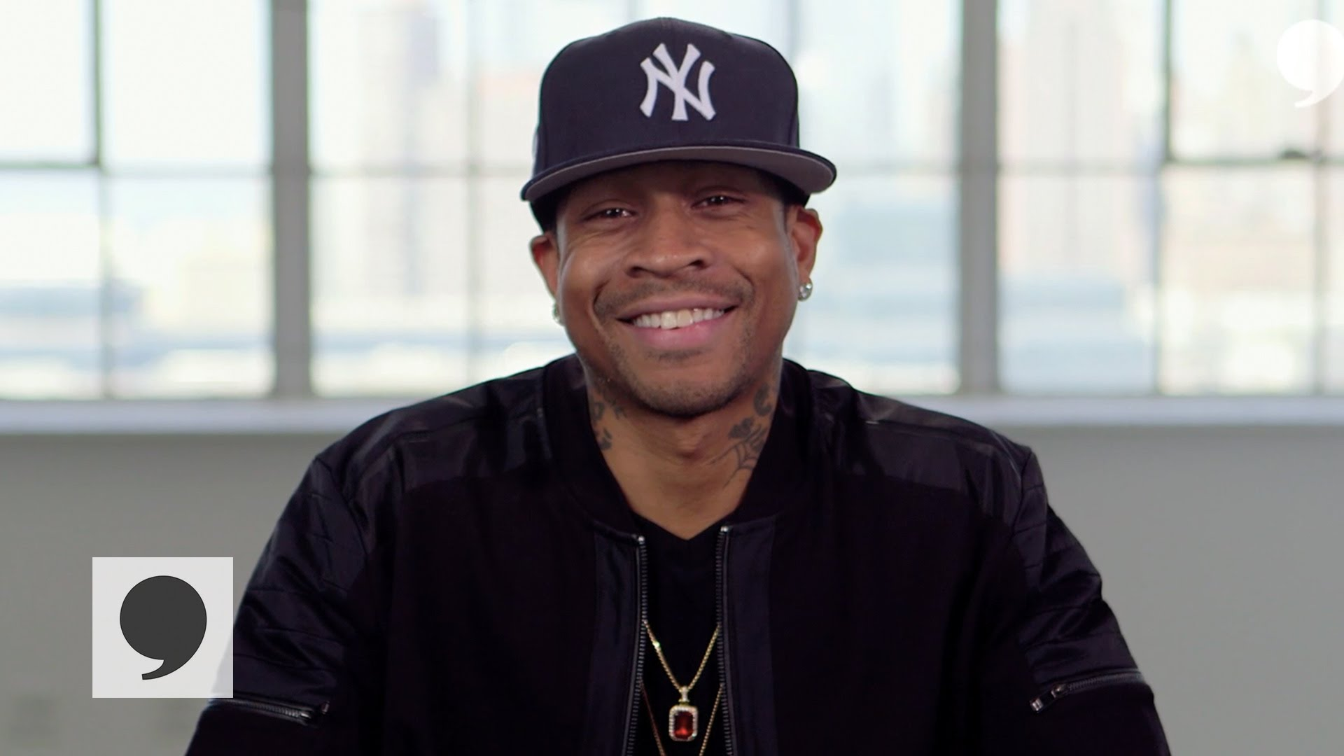 Allen Iverson speaks to the Players' Tribune