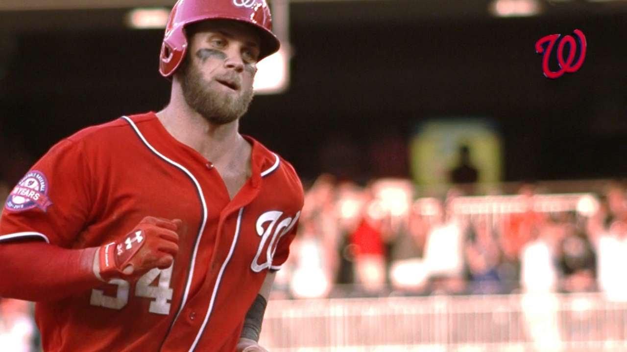 Bryce Harper clobbers walk-off two-run homer