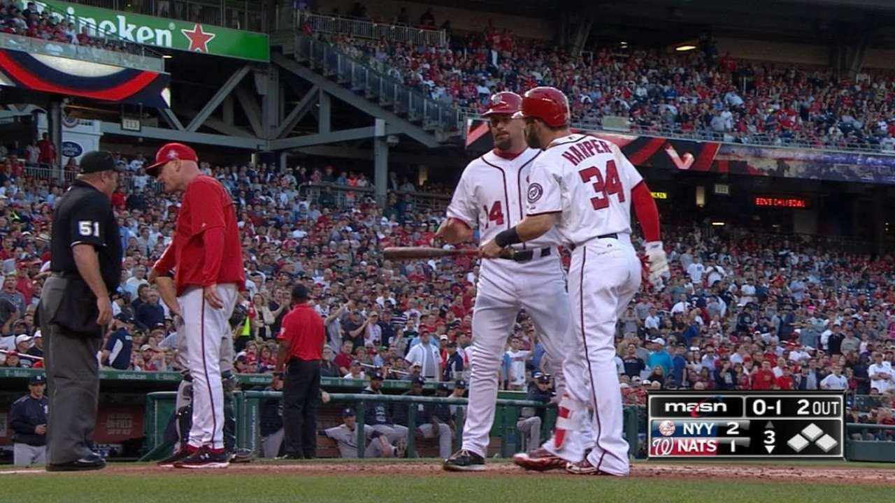 Bryce Harper & Matt Williams get ejected in the 3rd inning