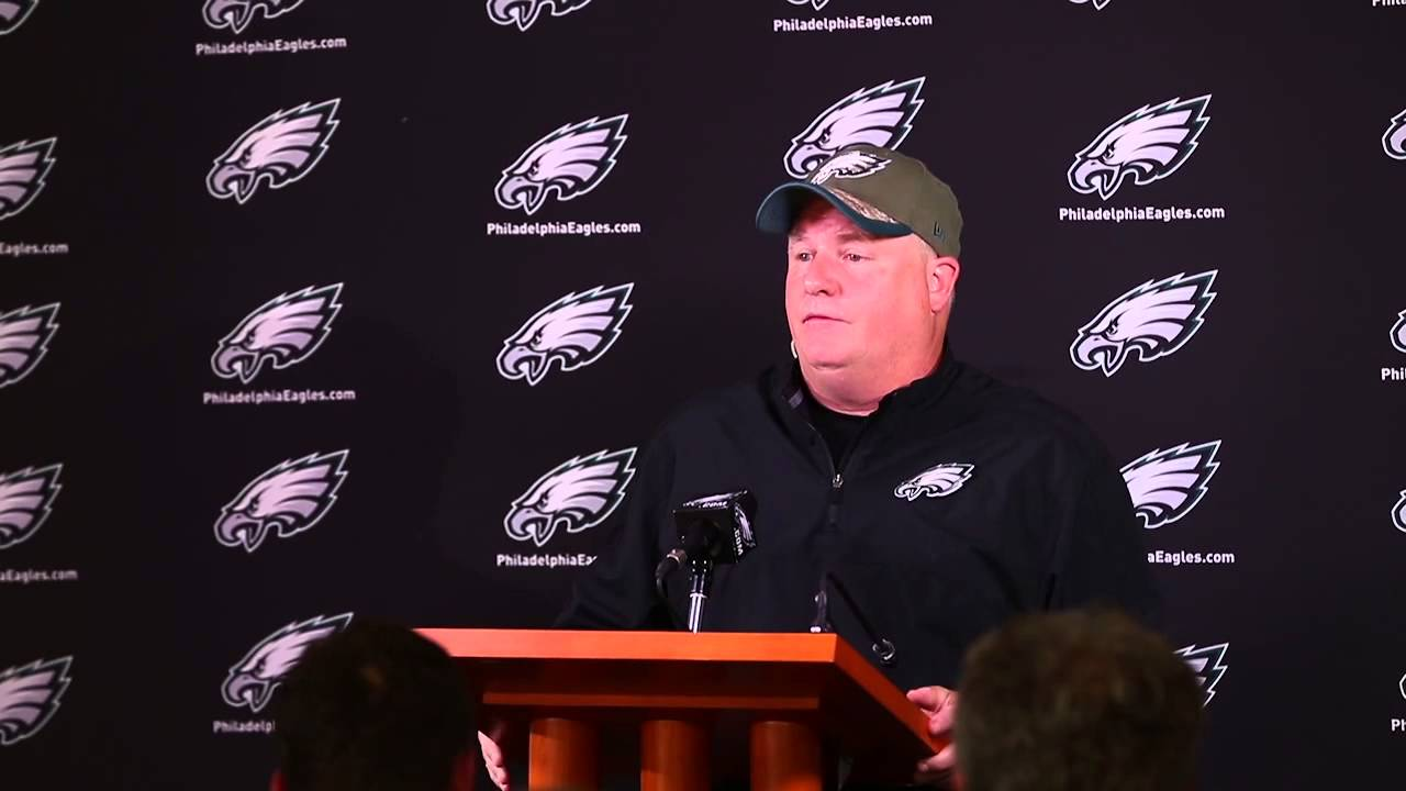 Chip Kelly responds to LeSean McCoy's racist allegations