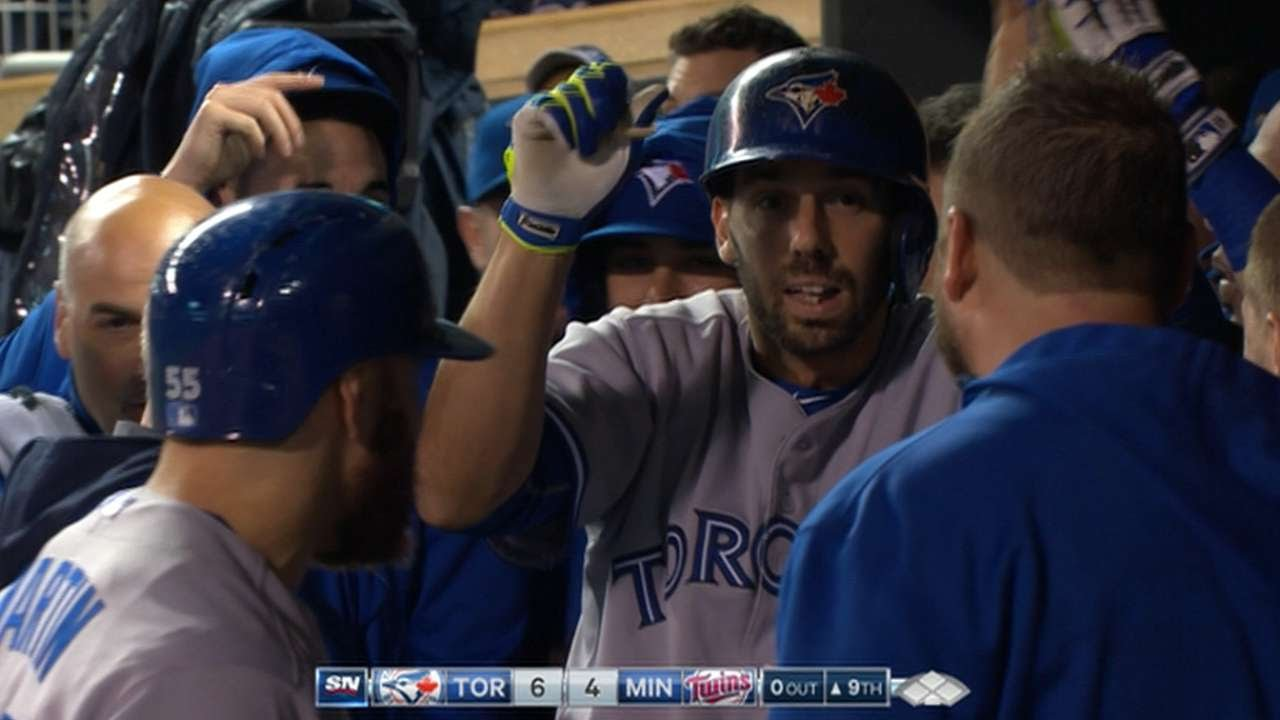 Chris Colabello cranks a game winning two-run home run vs. his former team