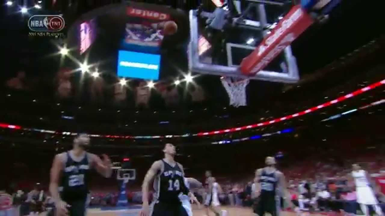 Chris Paul seals the Game 7 victory with winning shot