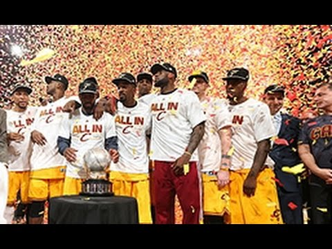 Cleveland Cavaliers crowned Eastern Conference Champions