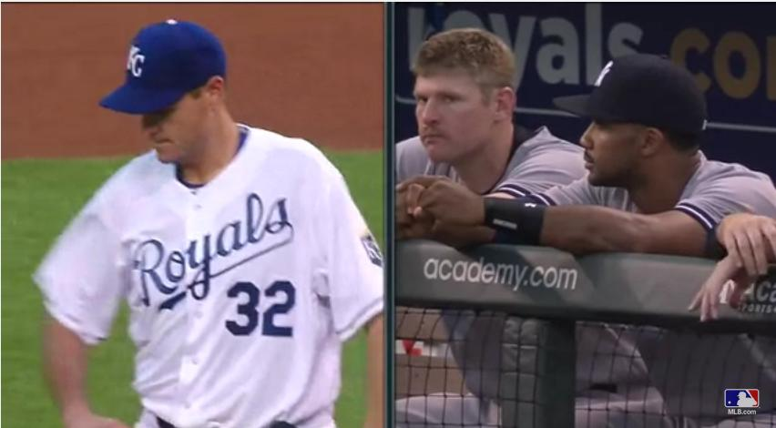Royals booth share story of confusion on both Chris Young's