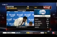 DeAndre Jordan walks out of post-game press conference laughing