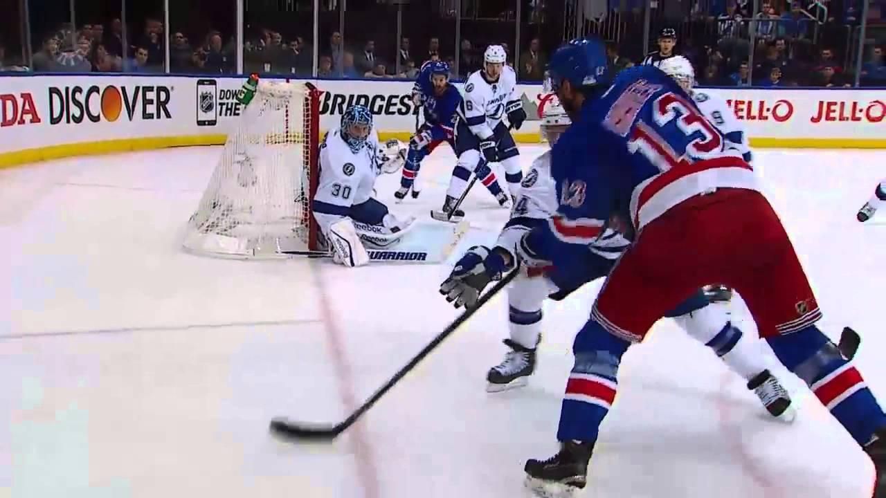 Domonic Moore's leg gets game winner for Rangers