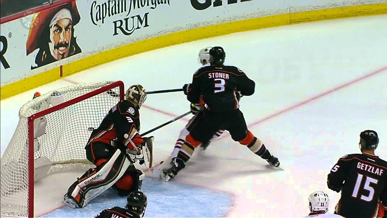 Ducks defenceman Clayton Stoner goes on rampage of hits