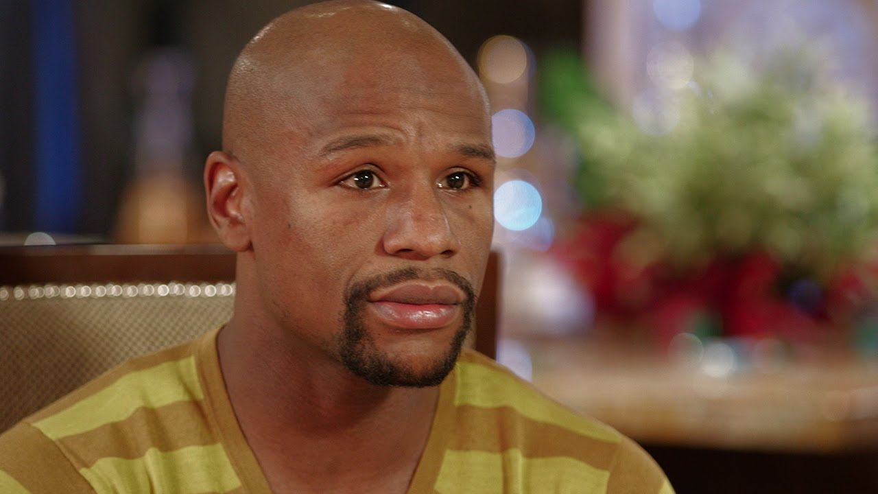 Floyd Mayweather post-fight interview with Jim Gray