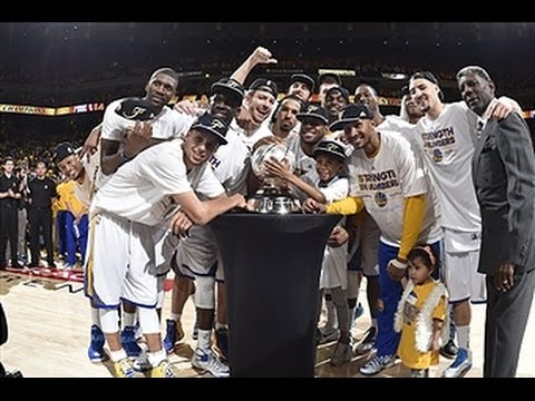 Golden State Warriors are Western Conference Champions