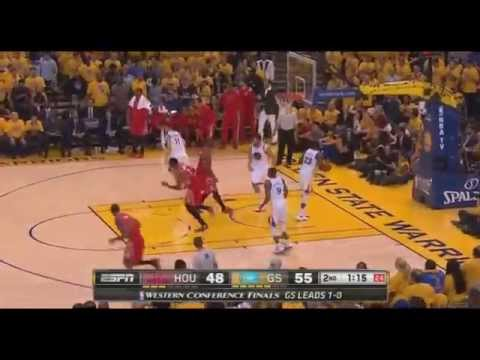 James Harden puts Steph Curry on skates with crossover