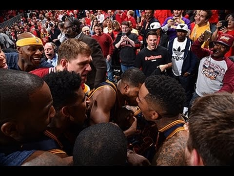 LeBron James buries the buzzer beater to win Game 4