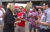 Reporter confronts Toronto FC fans who said FHRITP