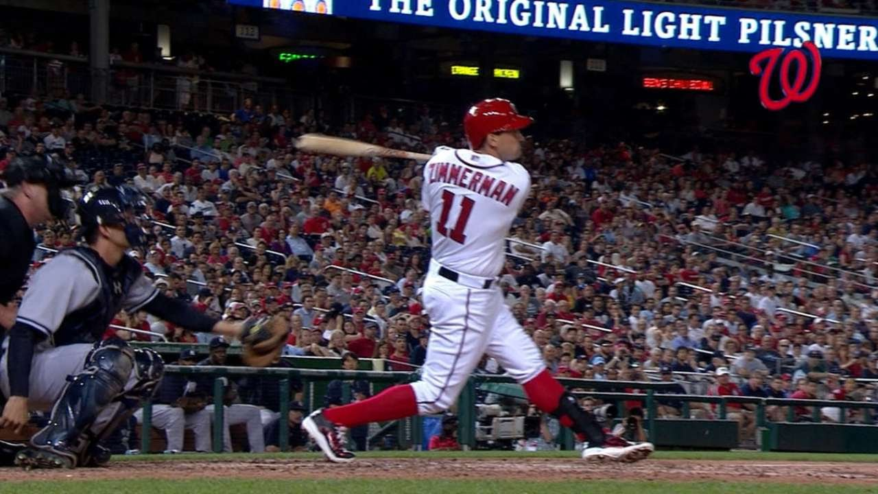 Ryan Zimmerman hits opposite-field walk-off shot for the Nats