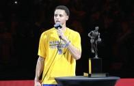 Stephen Curry MVP Award Presentation