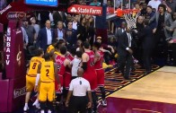 Taj Gibson ejected from game after scrum with Cavs