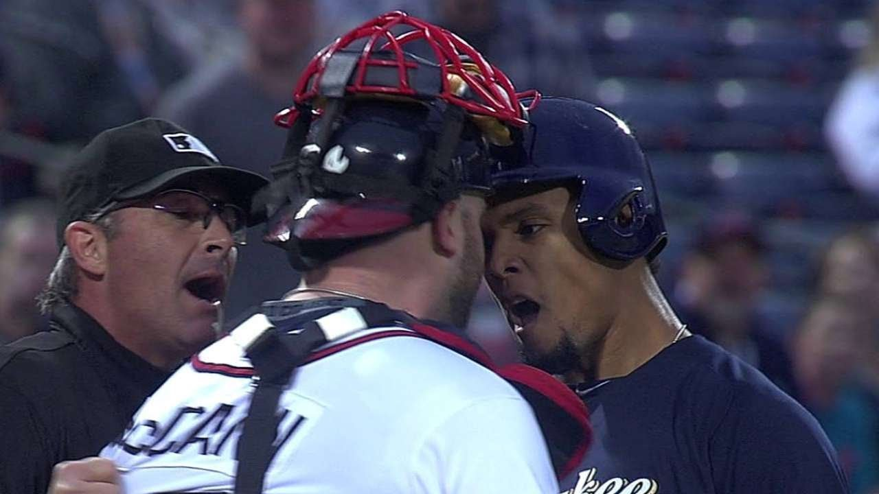 Throwback Thursday: Benches clear after Carlos Gomez's homer