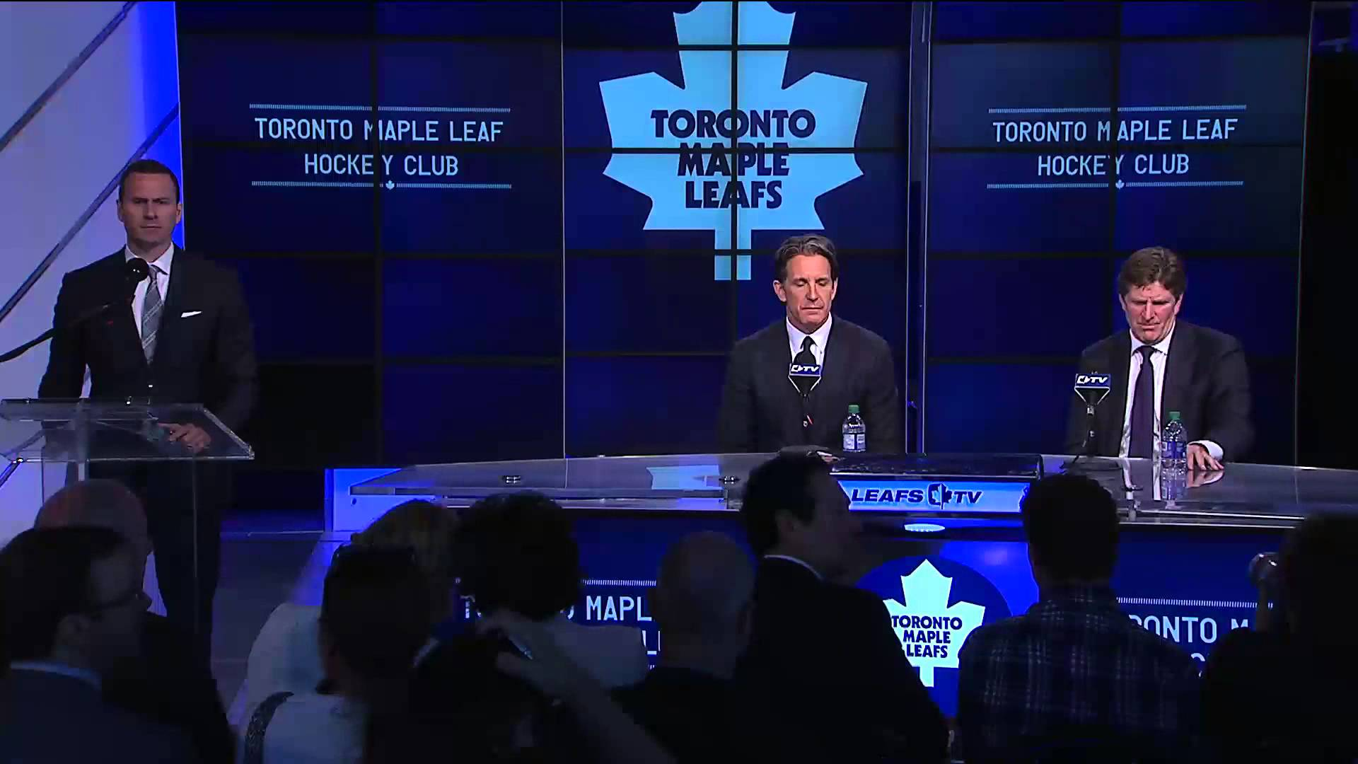 Toronto Maple Leafs introduce Mike Babcock (Full Press Conference)