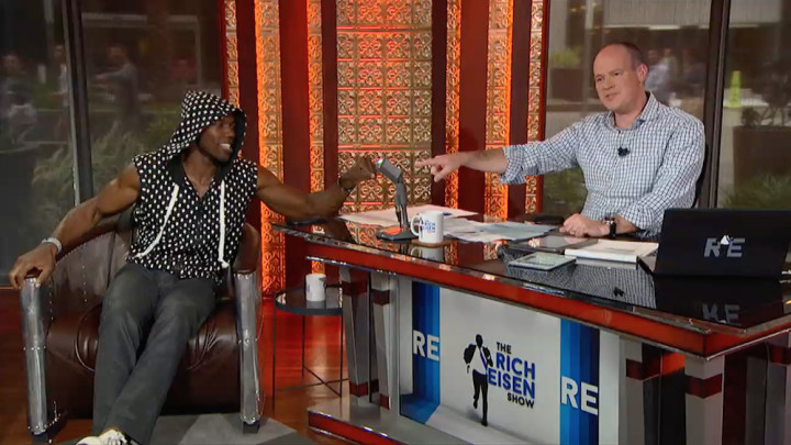 Terrell Owens interview with the Rich Eisen show
