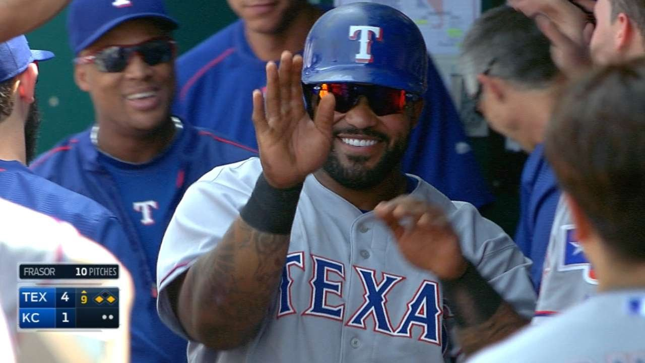 Adrian Beltre teases Prince Fielder for being picked off