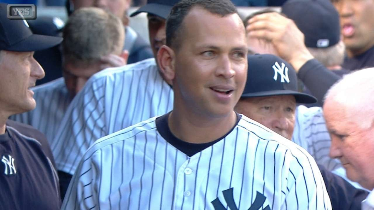 Alex Rodriguez blasts a solo homer for hit No. 3,000